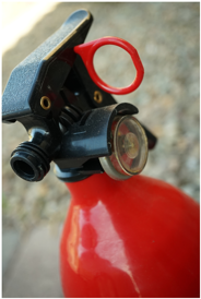 fire extinguisher pull pin