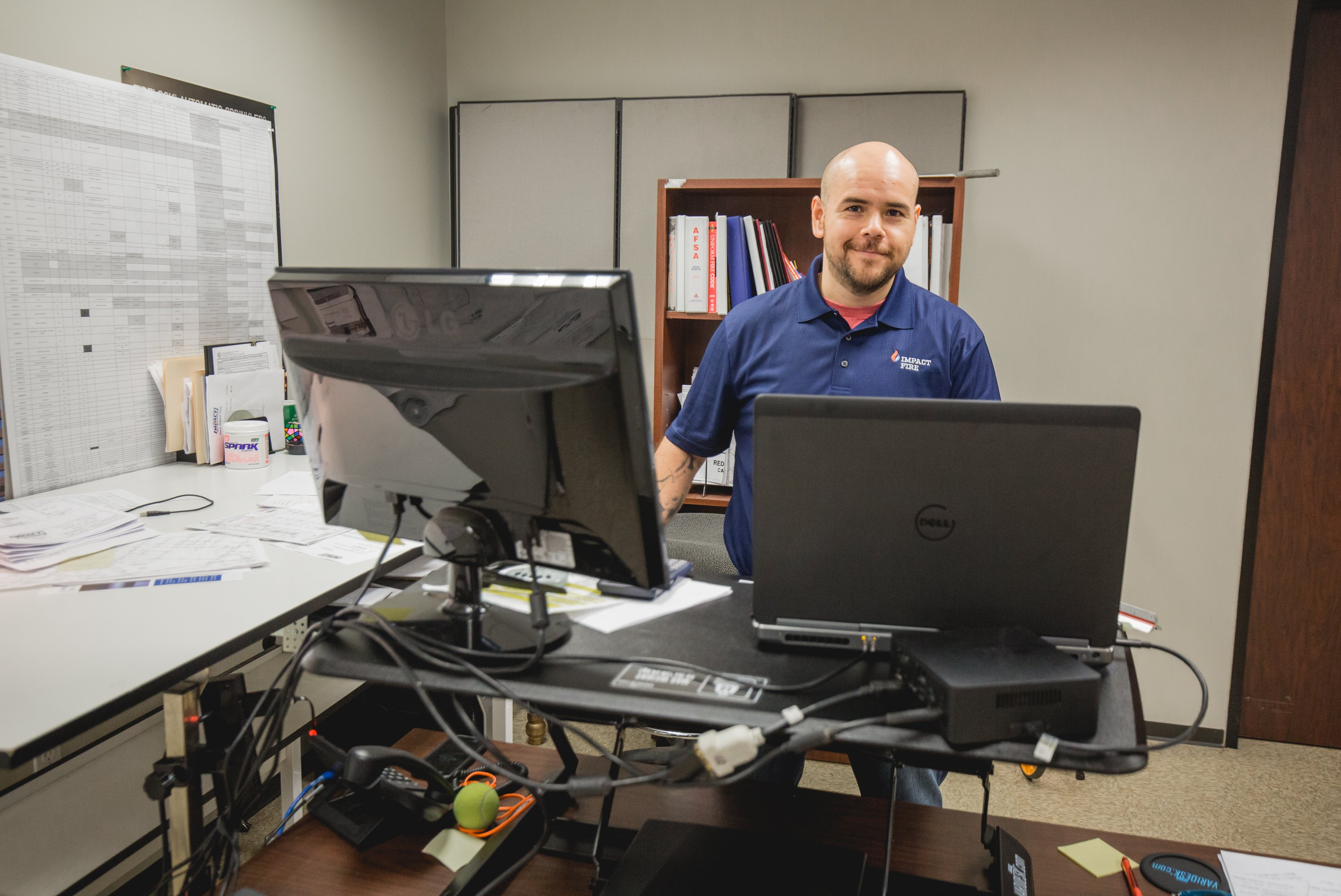 Why I Work at Impact Fire as an Office Manager